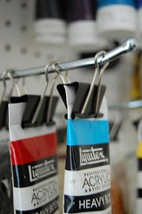 How to organize your acrylic paints | by Melly Kay