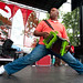 Keith Frank and the Soileau Zydeco Band at the 2010 Breaux Bridge Crawfish Festival