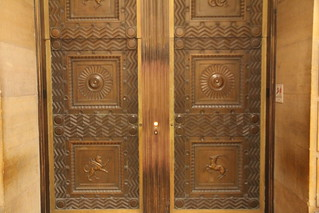 Philadelphia Museum of Art - amazing lift doors