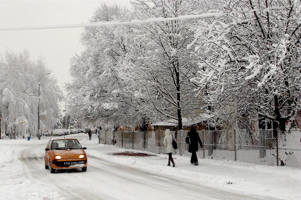 Ulica Śnieżna / Snow street