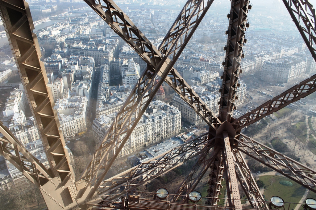 Desde el Ascensor de la Torre Eiffel