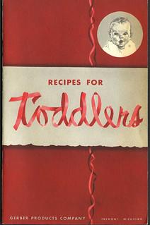 ephemera - Gerber Baby Recipe book 1950-52