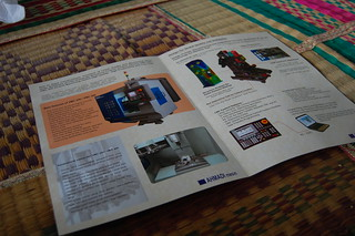 """Ahmadi Mesin"" – Leaflet of One of Alumni's Mechanical Fabrication 