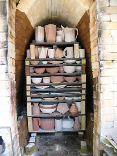 old kiln partly loaded | by bptakoma