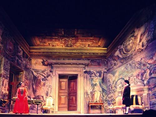 Act II Tosca and Scarpia
