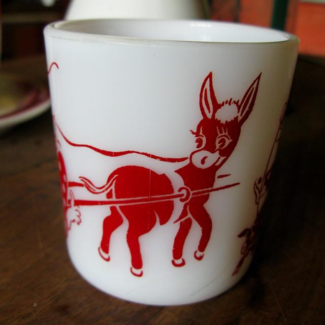 Pyrex Clown Mug