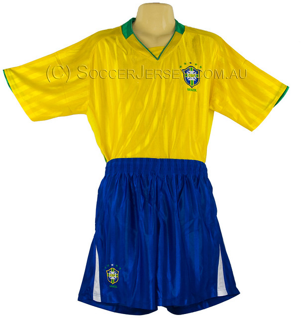 save off 4bc0f 24777 Brazil National Football Team Soccer Jersey & pants size X ...