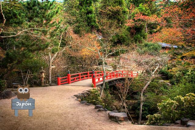 Puente cerca del ryokan Momiji-so