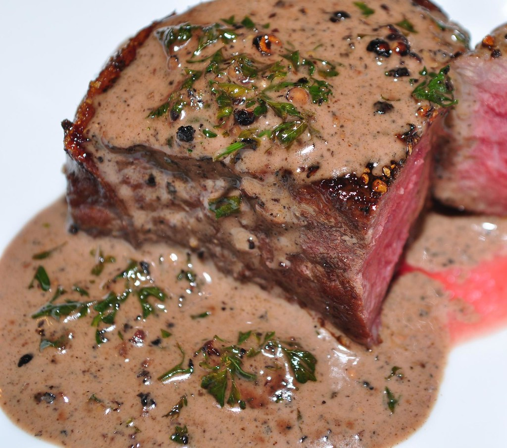Filet Mignon Au Poivre Whats4dinnersolutionswordpresscom