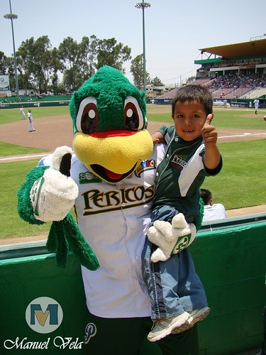 DSC01118 Pancho Perico mascota oficial del Club Pericos de Puebla por LAE Manuel Vela