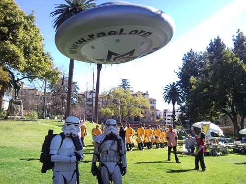 Raelians, drummers, Star Wars troopers | by Julian