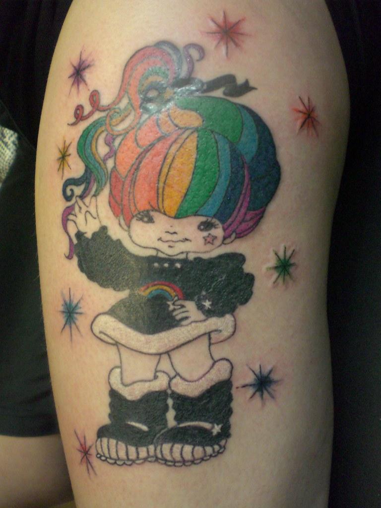 Rainbow Brite Undergroundtattoomd Flickr