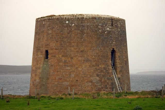 Crockness Martello Tower Hoy  Orkney
