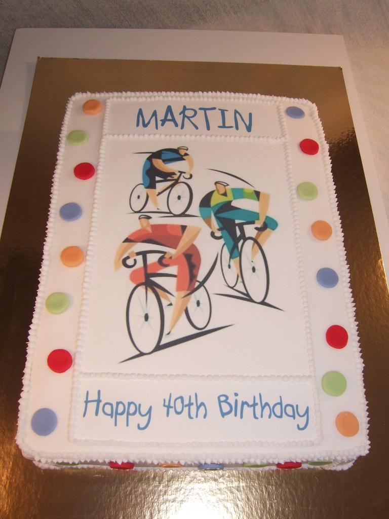 Incredible Martins 40Th Birthday Cake Cake Designer 57 Moselle Fr Flickr Funny Birthday Cards Online Inifodamsfinfo