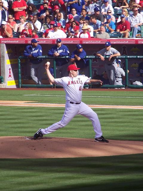 Anaheim Angels #41 - John Lackey