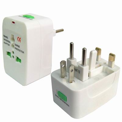Universal EU US UK AU Travel AC Power Adaptor Plug