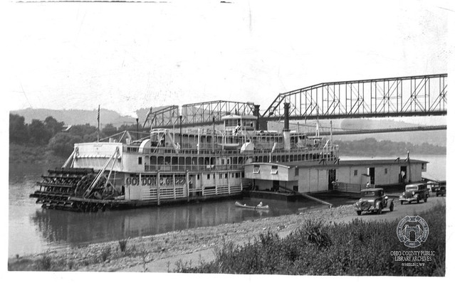 Riverboat Gordon C. Greene