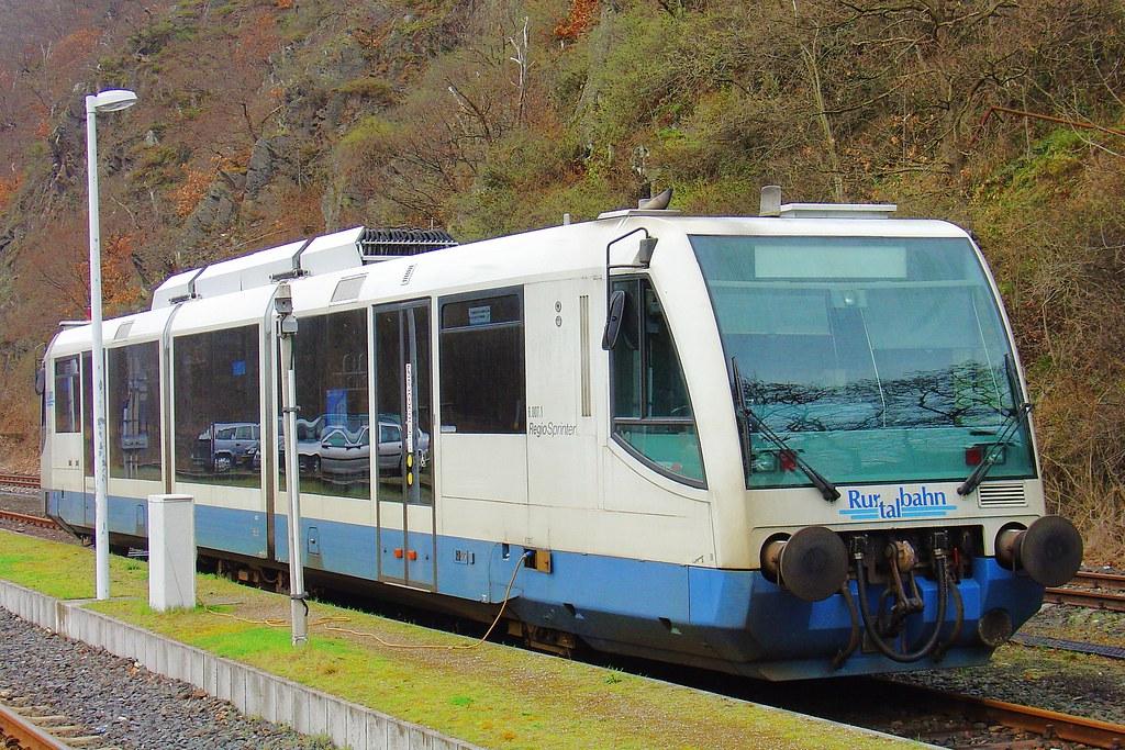 RegioSprinter   Rurtalbahn RegioSprinter in Heimbach