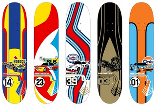 Aesthetics Skateboards: Livery Series