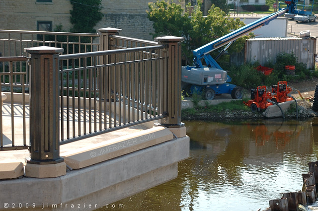 Detail of the Bridge - Nearing Completion