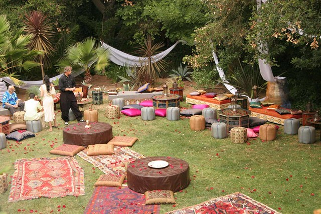 Moroccan Garden Party Moroccan Party Tent Lounge Furnitur Flickr