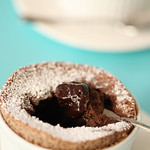 Chocolate Lava Souffle