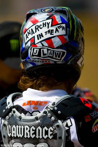 J Laws Helmet