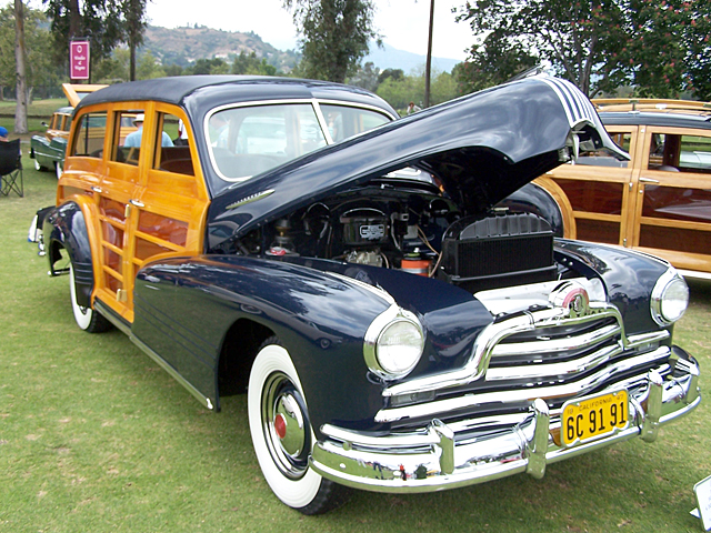 1947 Pontiac 4 door wagon