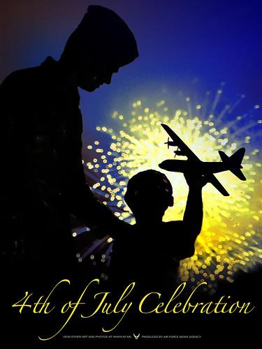 4th of July Celebration Poster - Epic Fireworks