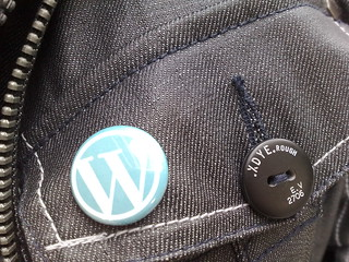 Wordpress Button Closeup | by Titanas