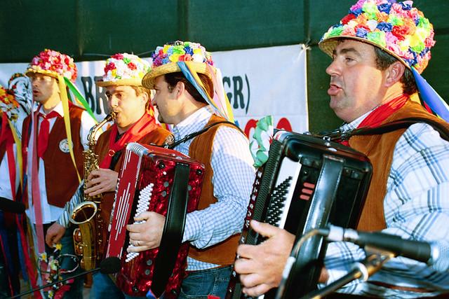 I maggerini - The maggerini singers in Braccagni (GR)