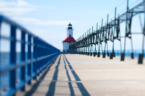 usa lighthouse mi michigan stjoseph lakemichigan depthoffieldstudy tiltshiftlens scheimpflugprinciple pcmicronikkor85mmf28d nikond300 nikkorpcmicronikkor85mmf28d