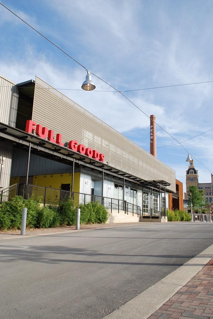 Full Goods Building Pearl Brewery San Antonio Texas