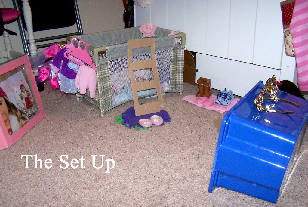 American Girl Doll bedroom | Carissa Rogers | Flickr