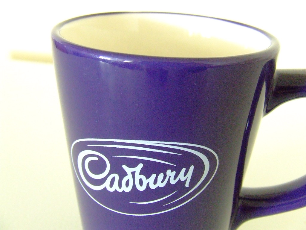 Cadbury Mug We Have Hot Chocolate In It Of Course