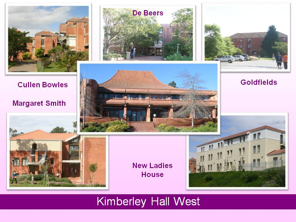 The Residences Kimberley Hall West Rhodes University Flickr