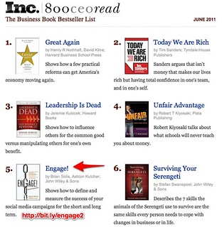 The Inc.|800CEORead Business Book Bestseller List | by The Brian Solis