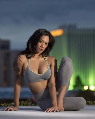 Kirin Lee at downtown Albuquerque