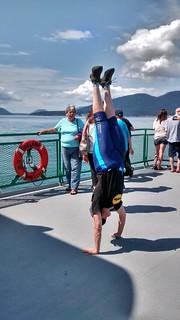 HotD on the Anacortes ferry