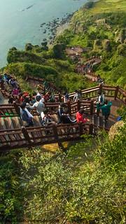 Seongsan Ilchulbong Peak | by dessidiah