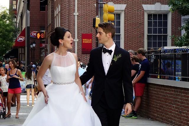 Surprised Bride