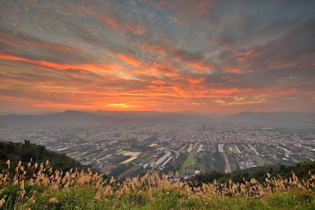 埔里●虎頭山~彩雲飛~  Sunset
