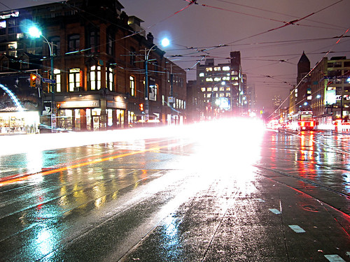 blast of light at queen and spadina | by veryscarygary
