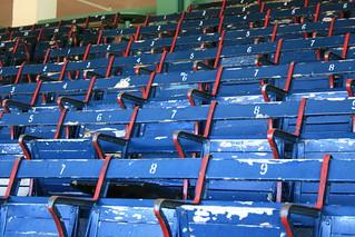 Fenway Blue Seats | by Stewart Dawson