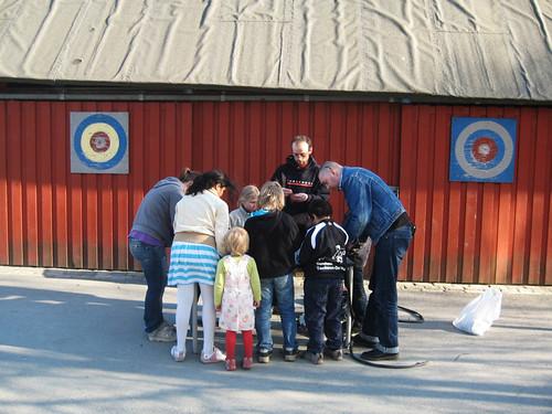 Basseverksted på Lilleby skole