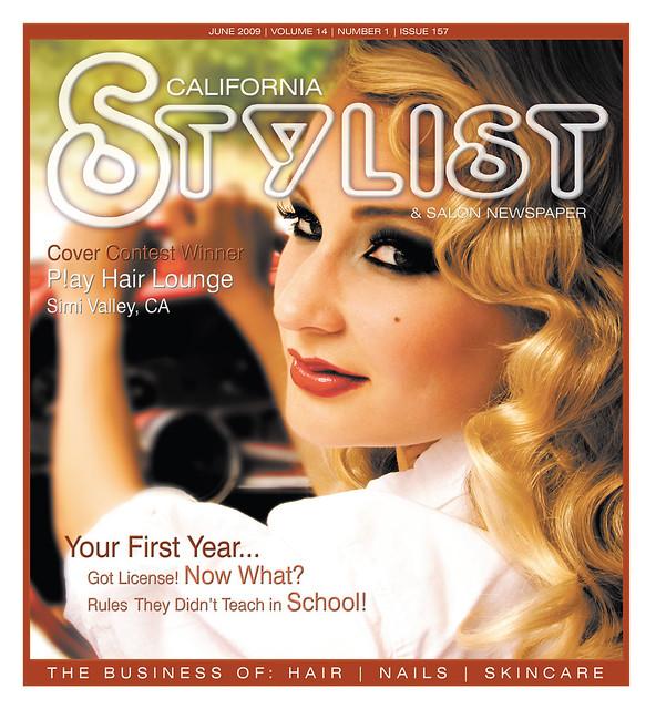 California Stylist Cover