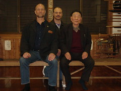 Visiting Murakami Katsumi Sensei with My Teacher, John Hamilton | by Mark Tankosich