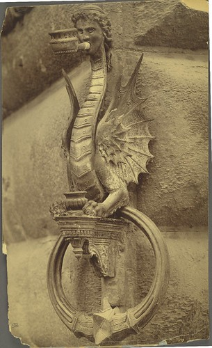 Florence. Wrought iron torch holder or horse tether from the Strozzi Palace | by Cornell University Library