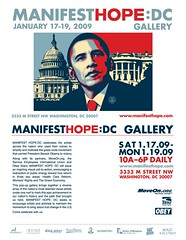 Manifest Hope:DC postcard