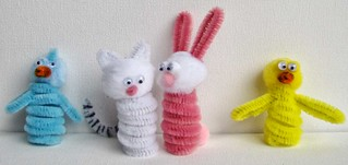 Easter Finger Puppets | by Wendy Piersall